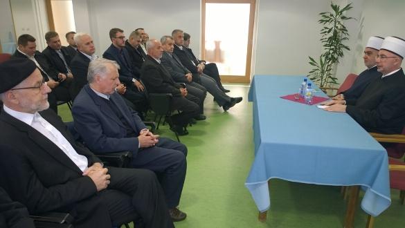 Susret reisul-uleme Kavazovića sa članovima Savjeta muftije tuzlanskog