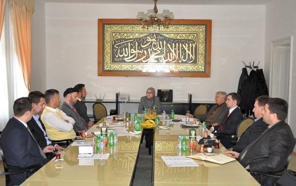 Održan sastanak sa koordinatorima za saradnju sa nevladinim organizacijama