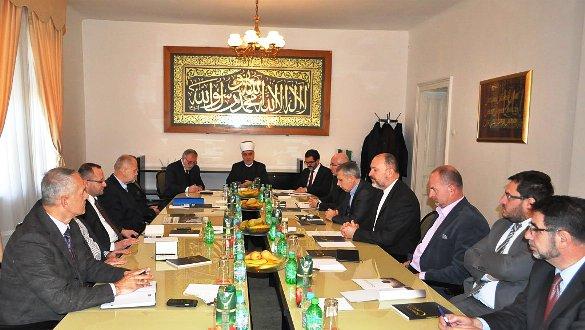 Sastanak Reisu-l-uleme s Muftijama i članovima Rijaseta