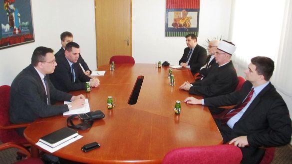 Potvrđena dobra saradnja Muftijstva tuzlanskog i Tuzlanskog kantona
