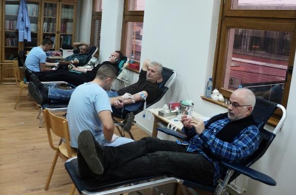 Realizirana akcija darivanja krvi