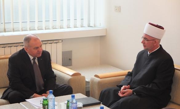 Muftija tuzlanski i zamjenik šefa Misije OSCE-a u BiH razgovarali o pravima povratnika