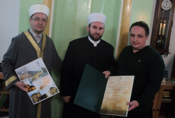 Vikaljska džamija: Dodjela vakufnama i zahvalnica