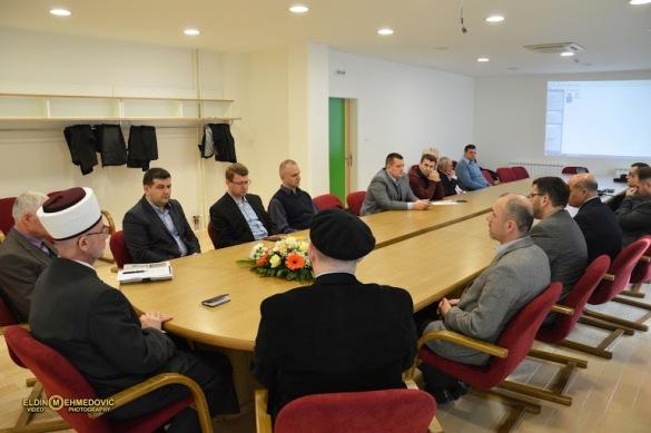 Svečana sjednica Izvršnog odbora Medžlisa Islamske zajednice Tuzla
