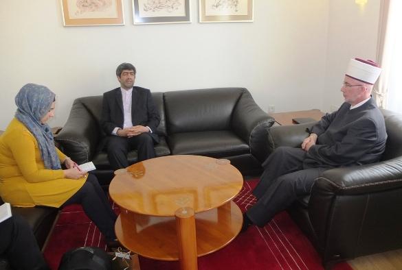Konzul za kulturu Ambasade IR Iran posjetio muftiju tuzlanskog