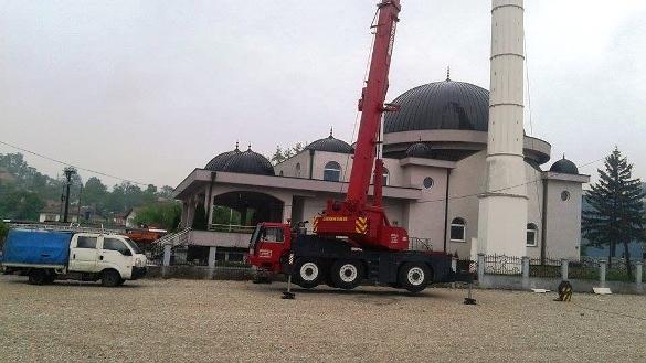 Popravke oštećenja na džamiji u Ćehajama