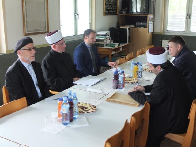 Radna posjeta Medžlisu Islamske zajednice Banovići