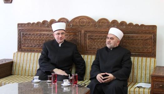 Susret muftije Dudića i muftije Fazlovića