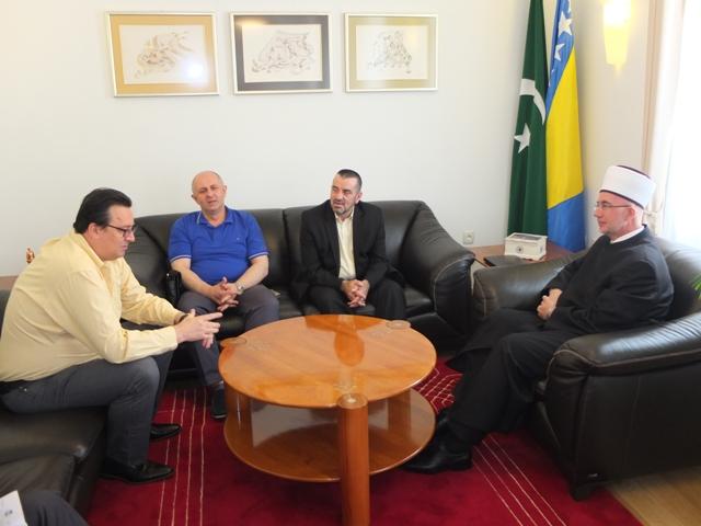Predstavnici Udruženja podrinjaca kod muftije tuzlanskog
