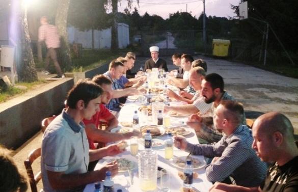 Iftar za štićenike i zaposlenike CROPS-a