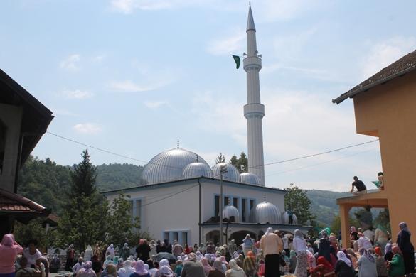 Svečanost povodom rekonstrukcije džamije u džematu Zelinja Donja