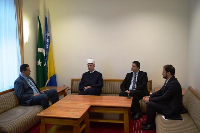 Muftija Fazlović se susreo sa premijerom Gutićem