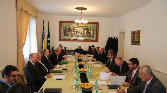 Održana sjednica Vijeća muftija