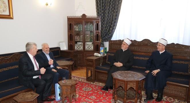 Reisu-l-ulema primio članove Građevinskog odbora gradačačke Husejnije džamije