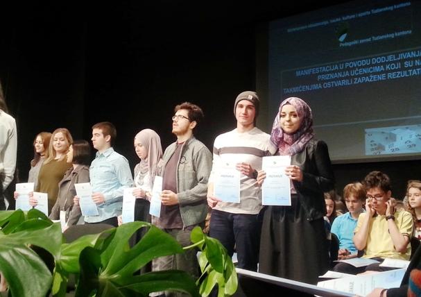 Dodijeljena priznanja učenicima Medrese za ostvarene rezultate na takmičenjima