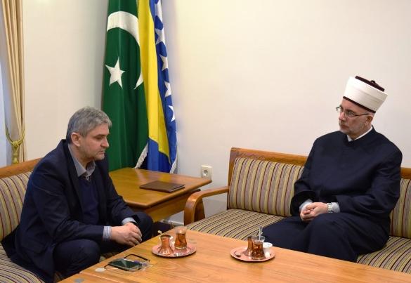 Ministar Bukvarević kod muftije tuzlanskog