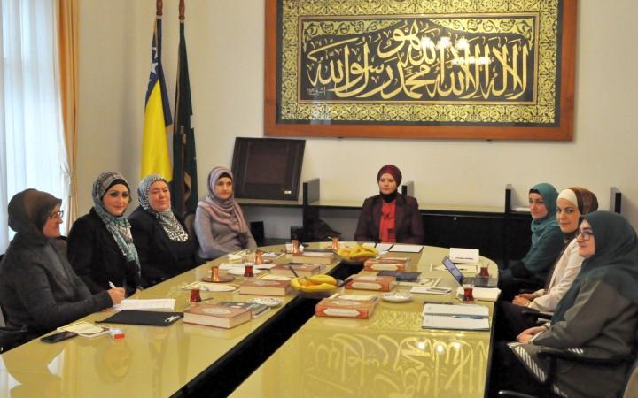 Održan sastanak koordinatorica za ženski aktivizam na nivou muftijstava