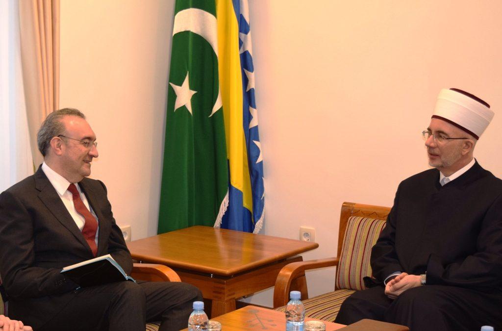 Ambasador Republike Turske u nastupnoj posjeti kod muftije tuzlanskog