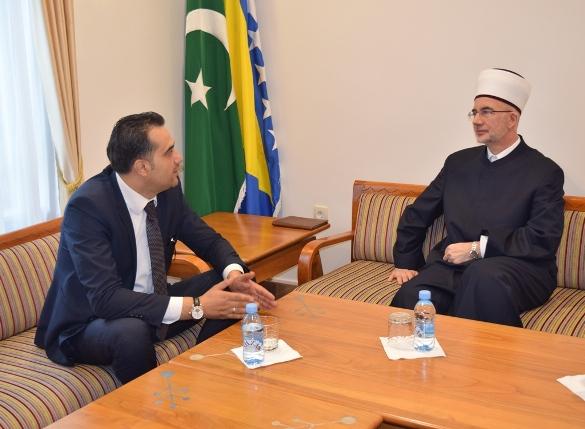 Ministar Hadžiefendić posjetio muftiju tuzlanskog