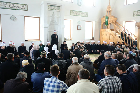 Mevlud izveli gosti s Fakulteta islamskih nauka