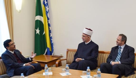 Ambasador Saudijske Arabije kod muftije tuzlanskog