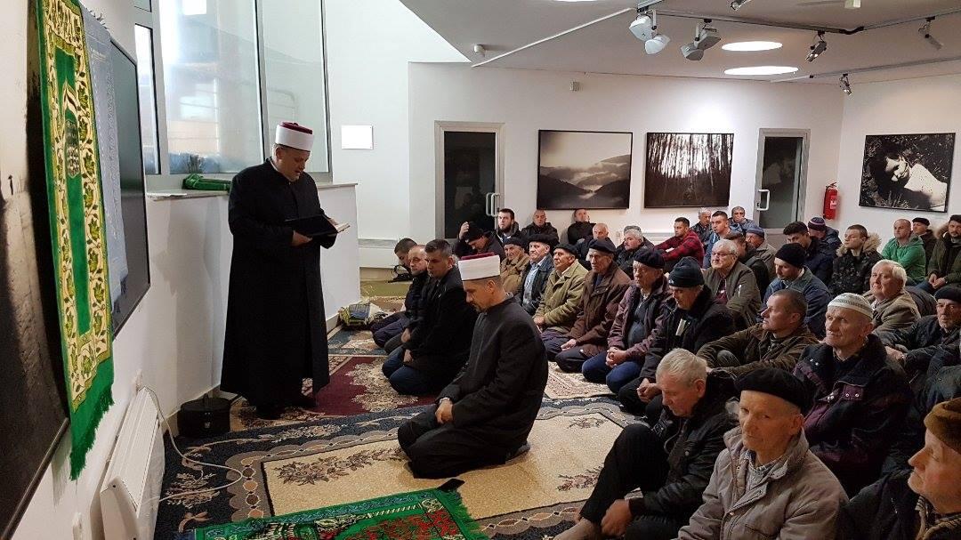 Muftija vojni održao hutbu u Potočarima