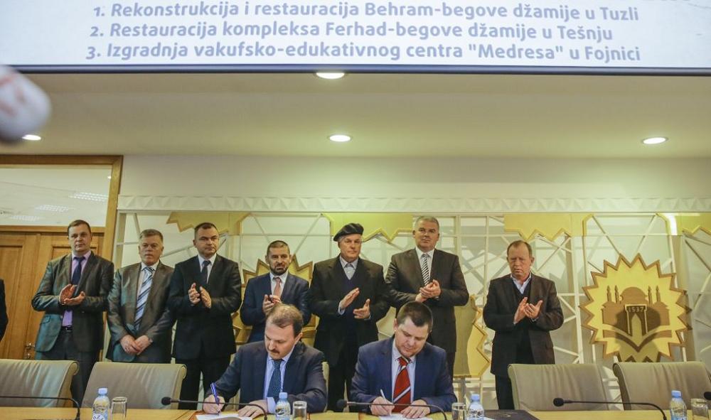 Potpisan Protokol o rekonstrukciji i restauraciji Behram-begove džamije u Tuzli