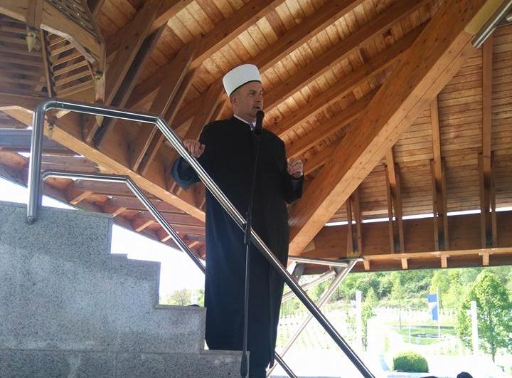 Muftija goraždanski održao hutbu u Potočarima