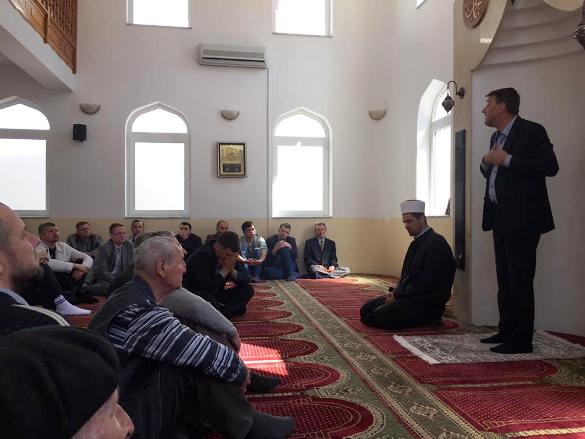 Čamdžić u Srebrenici