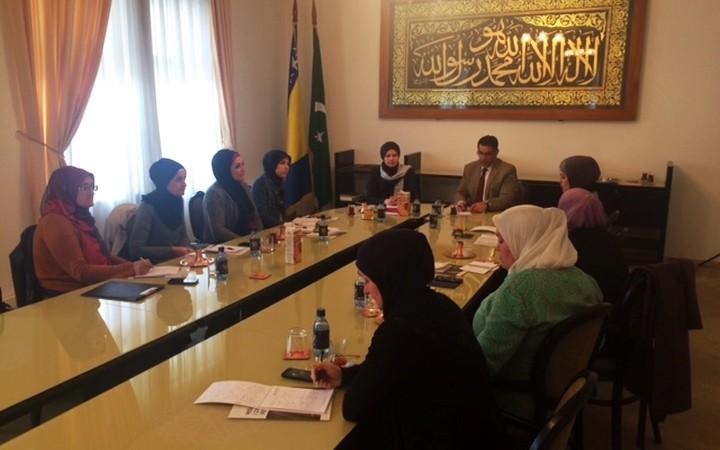 Održan sastanak koordinatorica za brak, porodicu i ženski aktivizam na nivou muftijstava