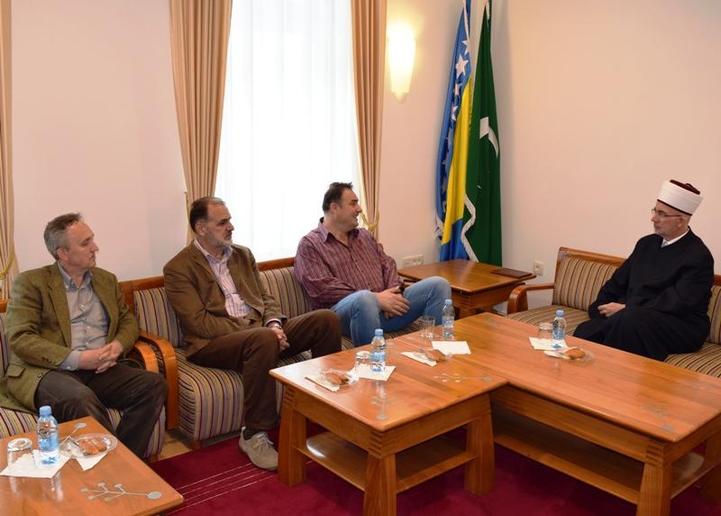 Načelnik Klinike za hirurgiju UKC Tuzla posjetio muftiju tuzlanskog
