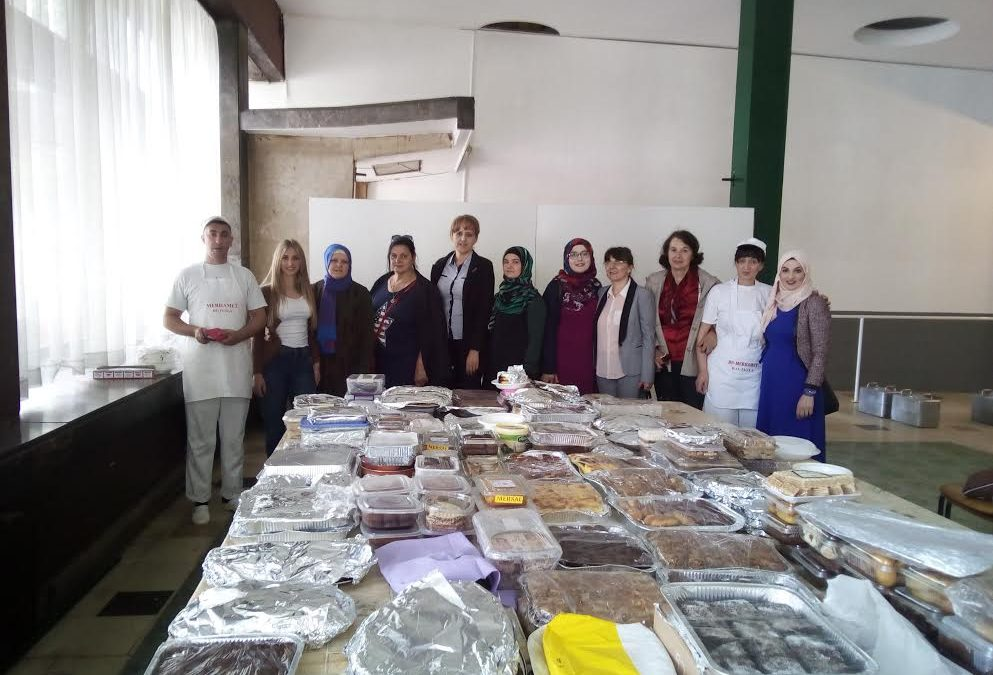 """Tuzla: 4000 kolača za korisnike Narodne kuhinje """"Imaret"""""""