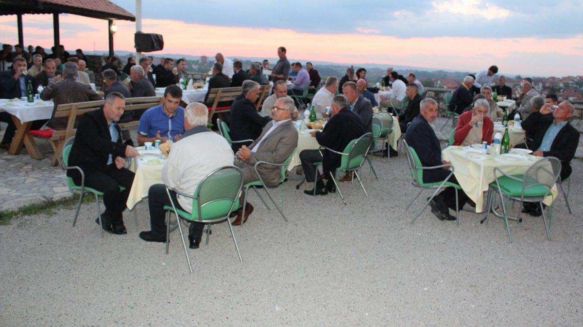 Iftar na Kuli Zmaja od Bosne