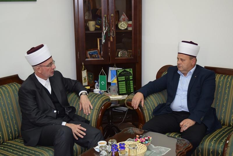 Muftija tuzlanski posjetio Vojnog muftiju