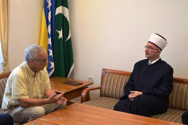 Dr. Keith Doubt posjetio muftiju tuzlanskog