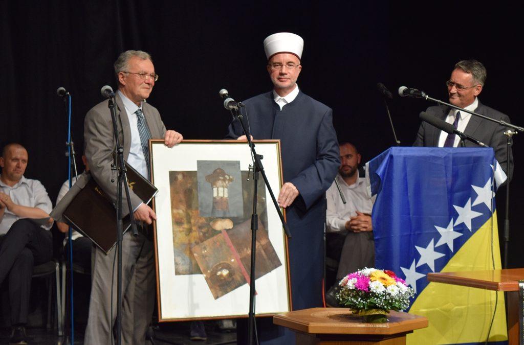 Prof. dr. Enesu Pelidiji dodijeljena Kaimijina povelja za životno djelo