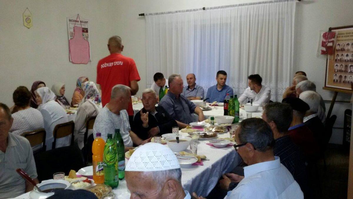 Iftar u Centru za aktivno starenje u Sibovcu
