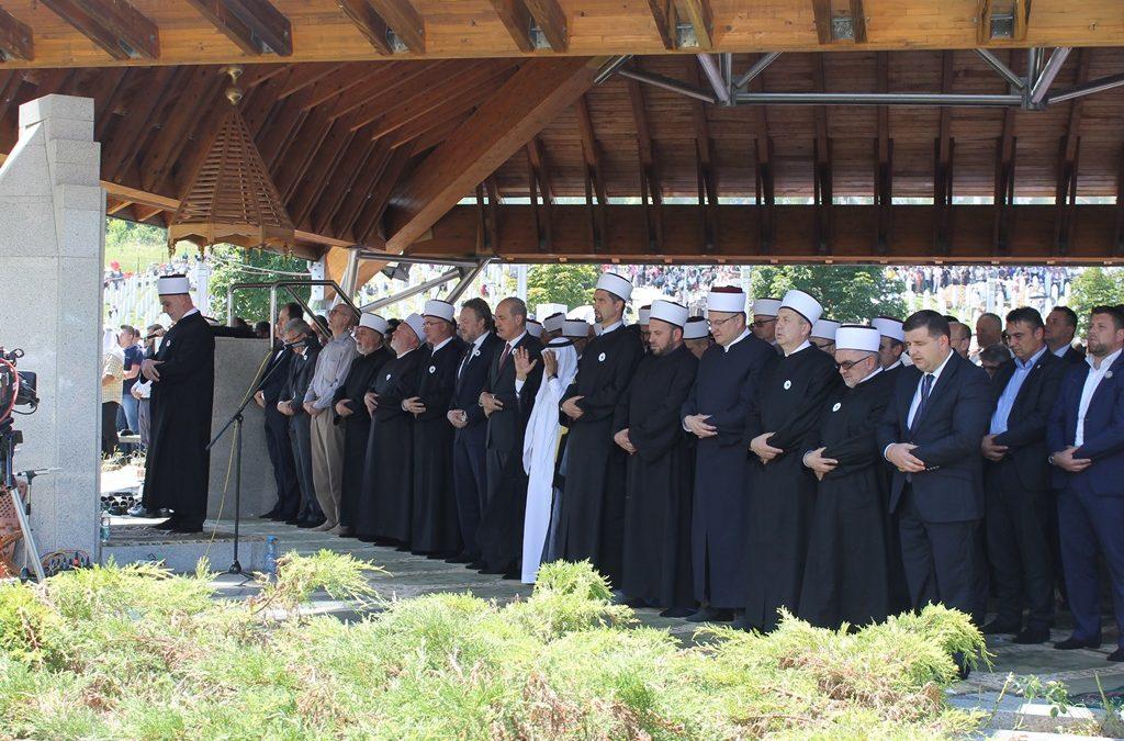 U Potočarima klanjana dženaza za 71 žrtavu Genocida