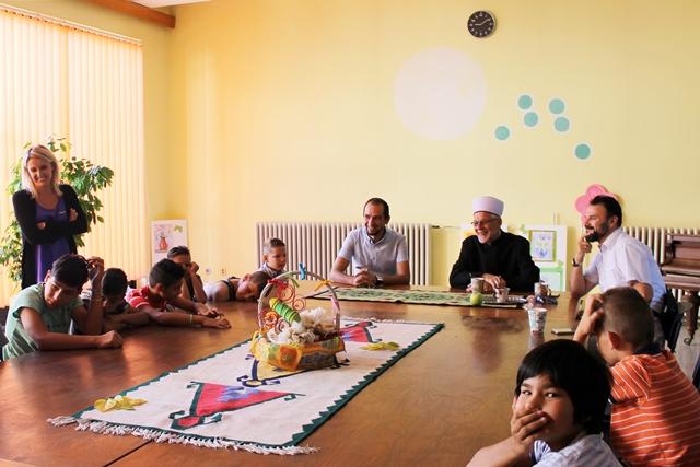 Druženje pred bajram u Domu za djecu bez roditeljskog staranja u Tuzli