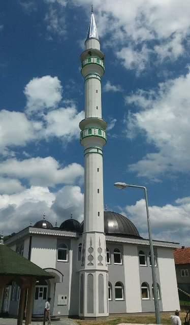 Otvorena novosagrađena džamija u džematu Hrasno Donje, MIZ Kalesija