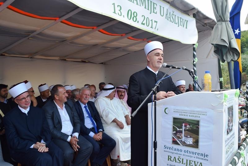 U gračaničkom džematu Rašljeva otvorena džamija
