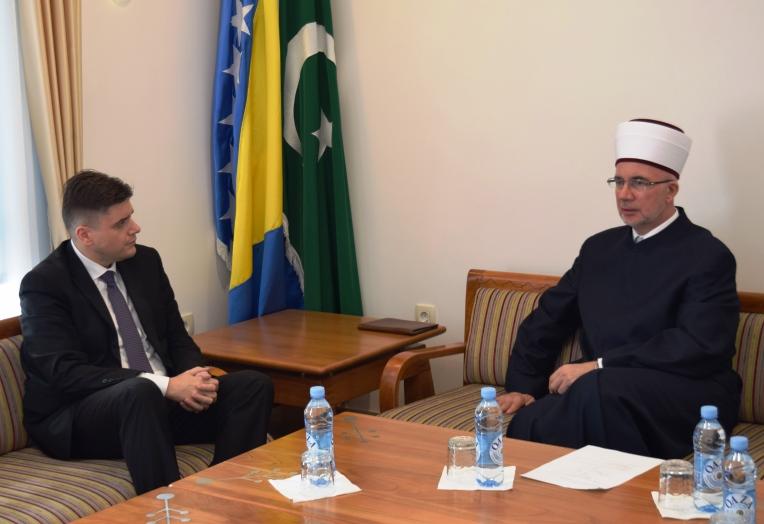 Ministar Muratović posjetio muftiju tuzlanskog