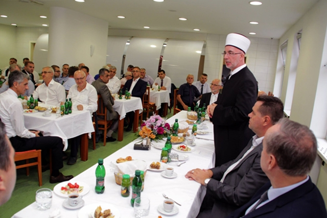 Tradicionalni bajramski prijem muftije tuzlanskog