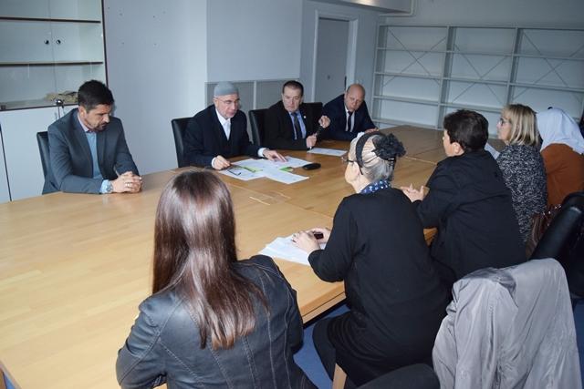 Održan sastanak Savjetodanve radne grupe Memorijalnog centra u Potočarima