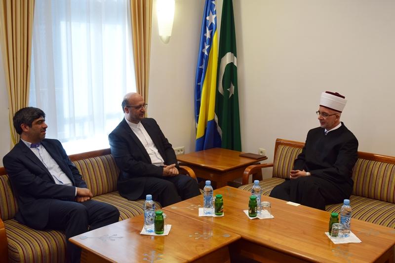 Ambasador Islamske Republike Iran posjetio muftiju tuzlanskog