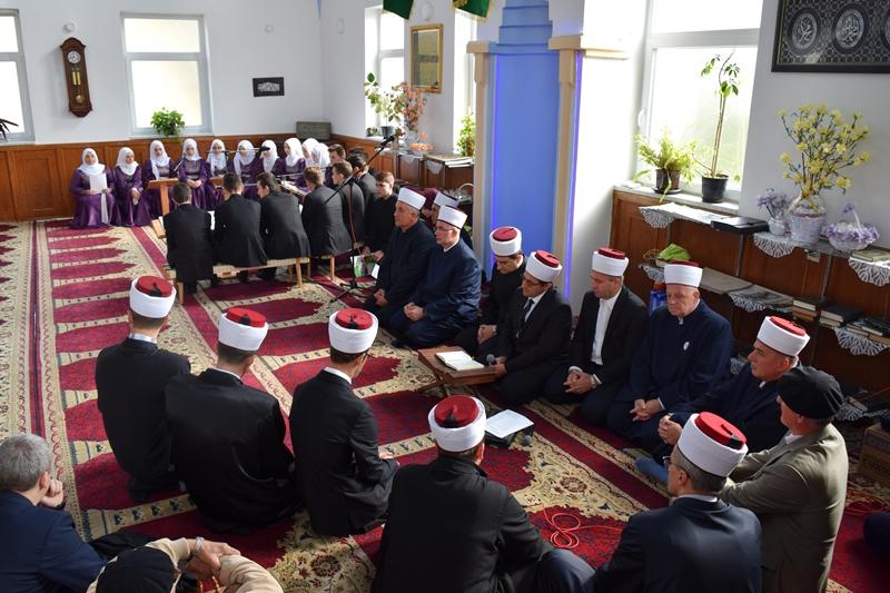 Muftija Fazlović posjetio Medžlis Islamske zajednice Puračić