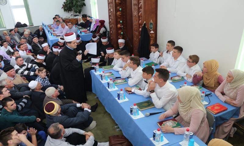U brčanskom džematu Gornji Rahić cijele porodice naučile učiti Kur'an