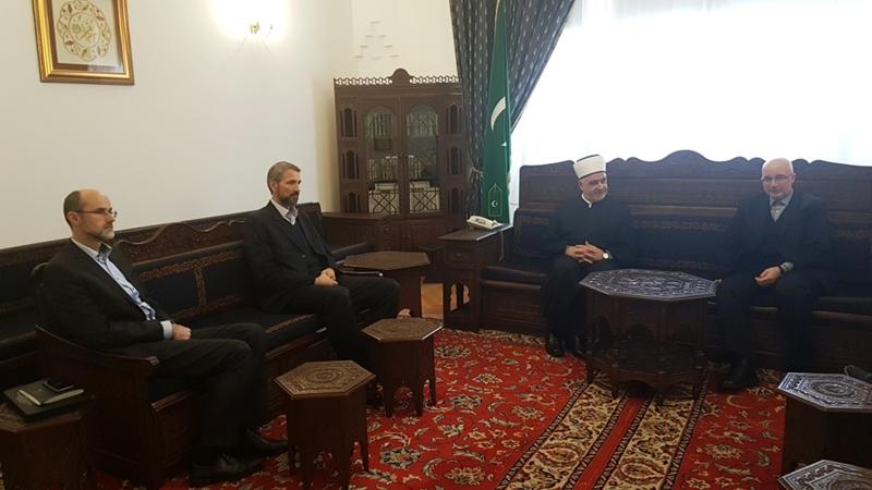 Reisu-l-ulema primio članove Upravnog odbora FIN-a