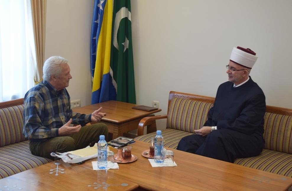 Nedžad Salković posjetio muftiju tuzlanskog