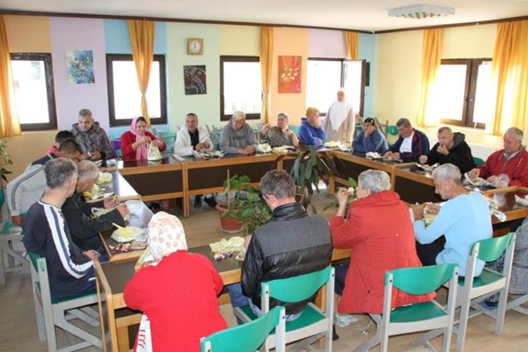 Kladanjski džematlije posjetili centar Duje u Klokotnici kod Doboja